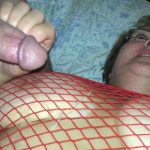 Red Fishnet In The Shower  By Request Pt2