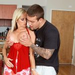 Dani's hubby tells this guy how to fuck her!