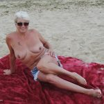 Naked On The Beach