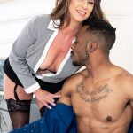 Raelynn sucks and fucks a big, black cock