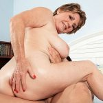 69-year-old Bea Cummins fucks 25-year-old Johnny