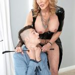 63-year-old Sierra's first on-camera fuck