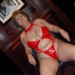 Red Hotel PVC Teddy