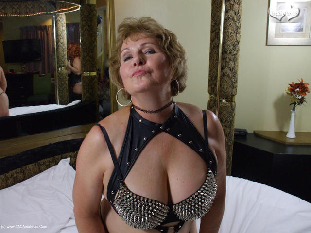 Spiked Busty Betties Having A Go