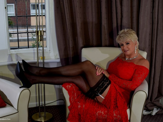 Posh Red Dress